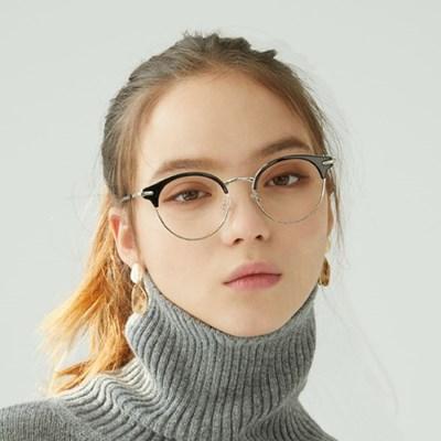 Proust BLACK 하금테 안경