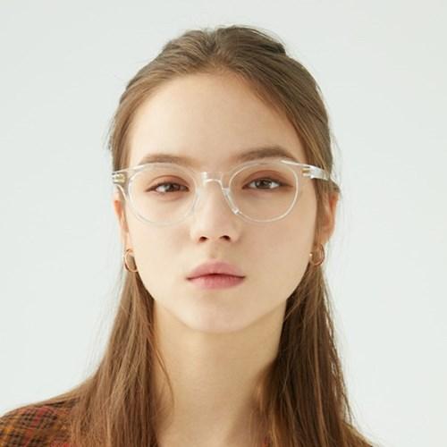 Wilde CRYSTAL 투명 뿔테 안경