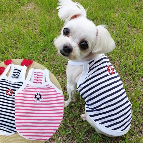 마린나시티 강아지여름옷 얇은 애견옷 빠른건조  시원한 소재