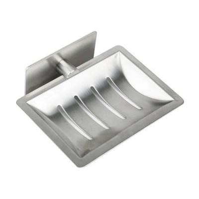 접착식 욕실 비누 받침대 / 호텔식 스텐 고급형 홀더