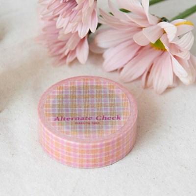 Alternate Check Masking Tape [Grapefruit]