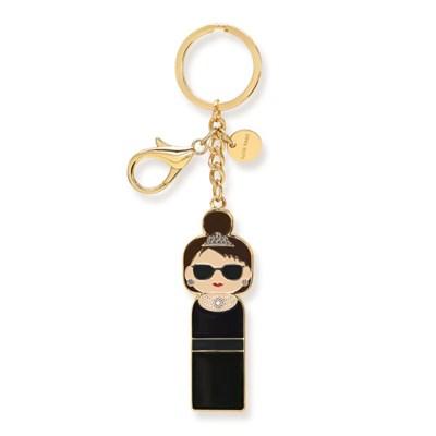 [Lucie Kaas] Key chain-Audrey(오드리 햅번)
