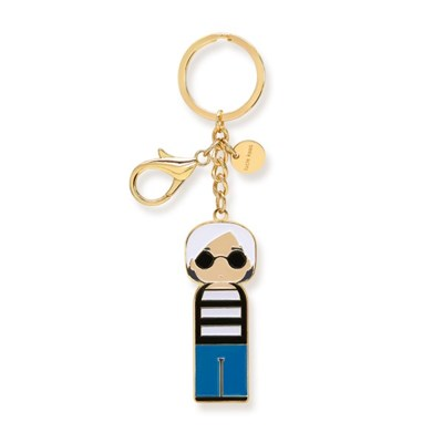 [Lucie Kaas] Key chain-Andy(앤디워홀)