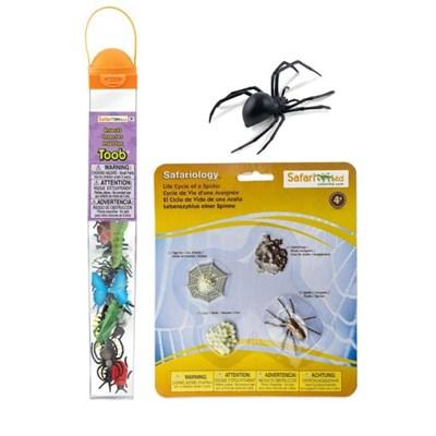 [사파리엘티디] 거미 피규어 3종세트(545406/100406/695304)