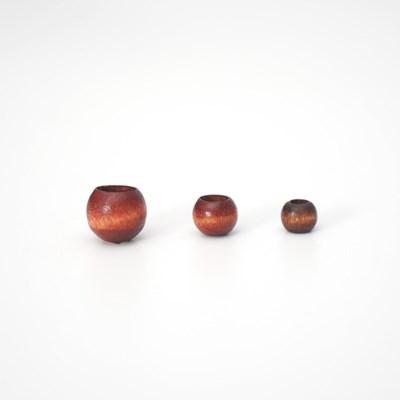 나무 구슬 (대/중/소) - 마크라메재료 우드비즈
