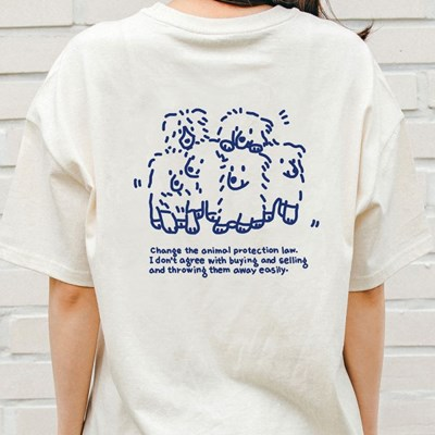 [Organic cotton] 비글구조네트워크 곰돌이 블루