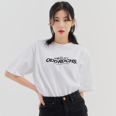 [스티커팩 증정] 오드 러디칙스 로고 티셔츠 - WHITE