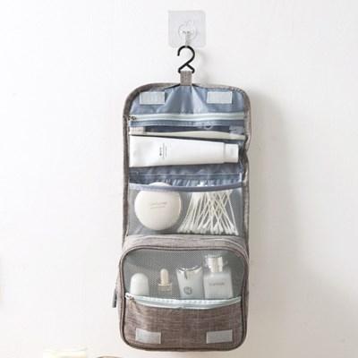 벽걸이형 여행용 세면백 워시백 화장품파우치 여행용가방 3color