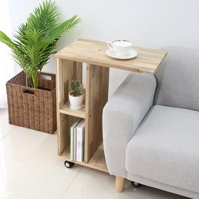 원목테이블 거실탁자 미니소파테이블 아카시아 책상