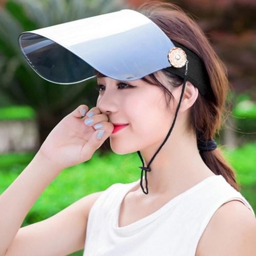 파인뷰 미러 자외선차단 썬캡(블랙)