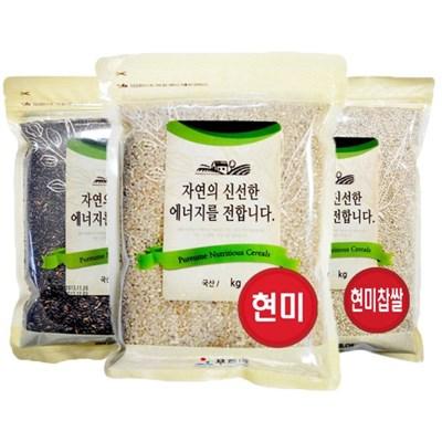 농부 친환경 무농약 유기농 이유식 쌀 현미 잡곡 3kg