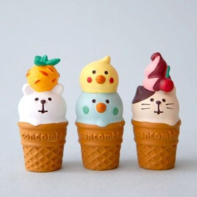 데꼴 아이스크림 콘 3P세트