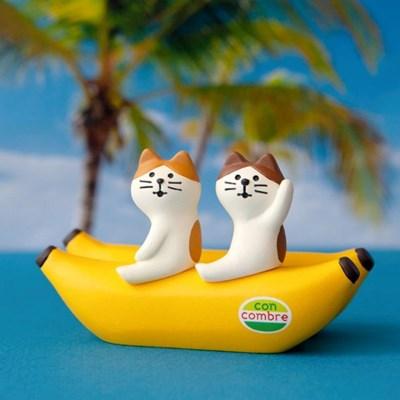 데꼴 바나나 보트 메모꽂이