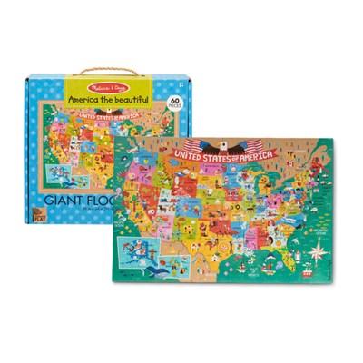 아름다운 미국 바닥 퍼즐 60피스_(301808125)