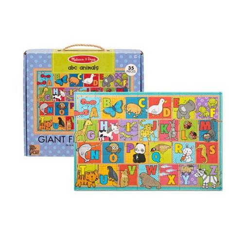 ABC 동물 바닥 퍼즐 35피스_(301808124)