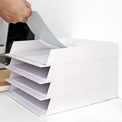 오피스 데스크 A4용지 서류보관 OFFISYS 문서 트레이_(1212286)