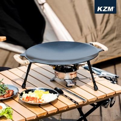 카즈미 이그니스 코팅 테이블 그리들 K20T3G008 / 바베큐 그릴
