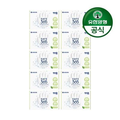 [유한양행]해피홈 SAFE365 비누 그린샤워향 (85gx1입) 10개