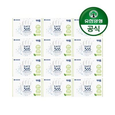 [유한양행]해피홈 SAFE365 비누 그린샤워향 (85gx1입) 12개
