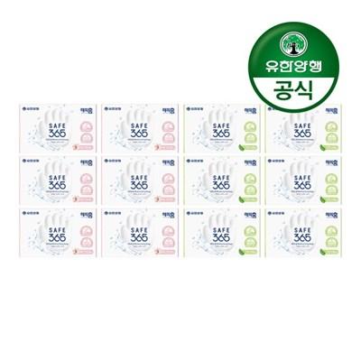 [유한양행]SAFE365 비누 핑크포레85g 6개+그린샤워85g 6개(총12입)