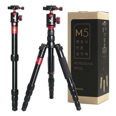 벤토사 카메라 스마트폰 삼각대 모노포드 M5