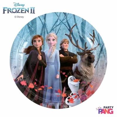 디즈니 겨울왕국 2_파티접시 18cm 6입 (어드벤처)_(12058071)