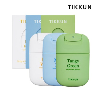 티쿤 휴대용 스프레이 손소독제 단품 3개입 (+쇼핑백 추가가능)