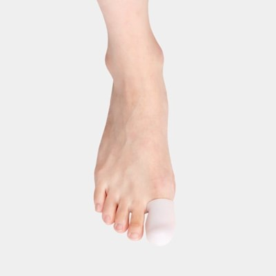 메디앤스토리 실리콘 발가락보호대 발가락 보호골무