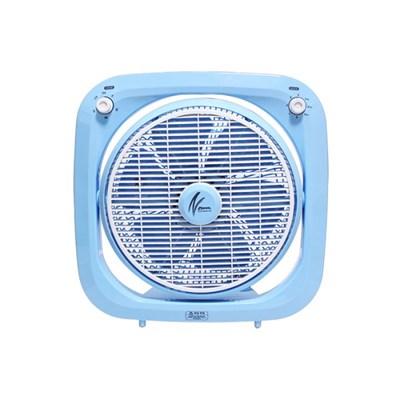신일 360도 풍향조절 박스팬 블루 SIF-U14BWS
