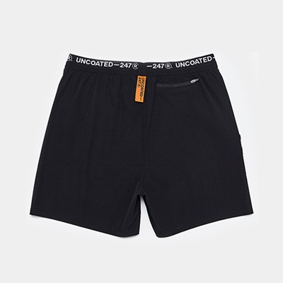 [언코티드247] POSEIDON SHORT PANTS - 블랙