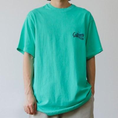 LA 오버핏 프린트 반팔 티셔츠 박스티 3color