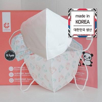 국내산 아동용 일회용 어린이마스크 소형10매입 개별포장