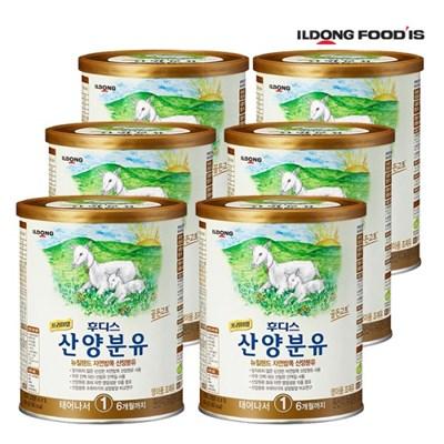 [일동후디스] 프리미엄 산양분유 1단계 400g x6개_(701765913)