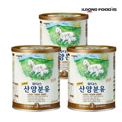 [일동후디스] 프리미엄 산양분유 3단계 400g x3개_(701765904)