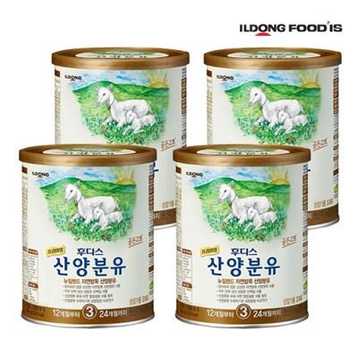 [일동후디스] 프리미엄 산양분유 3단계 400g x4개_(701765903)