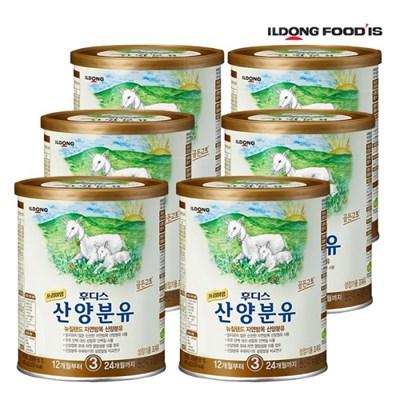 [일동후디스] 프리미엄 산양분유 3단계 400g x6개_(701765901)