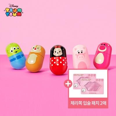 [에뛰드] 디즈니 썸썸 젤리 무스 틴트+입술패치 2매