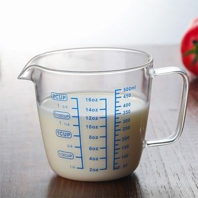 [로하티]유리 계량컵(500ml)