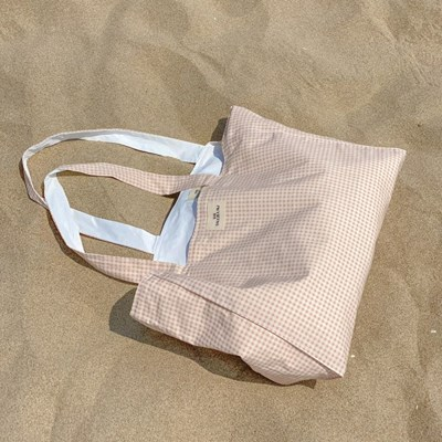 Reversible bag (jelly check)
