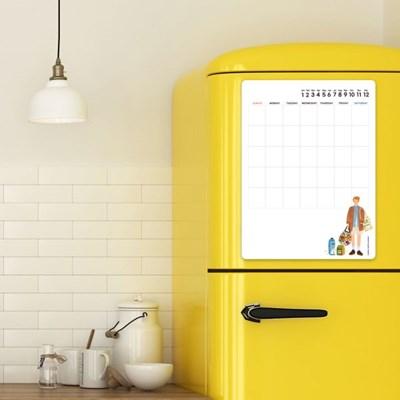 [꼬메모이]뷰로 아망뜨 안드레아 마켓 / 냉장고 자석 계획표 스케쥴