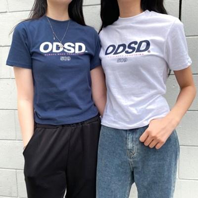 오드스튜디오 ODSD로고 슬림핏 티셔츠 - 2COLOR