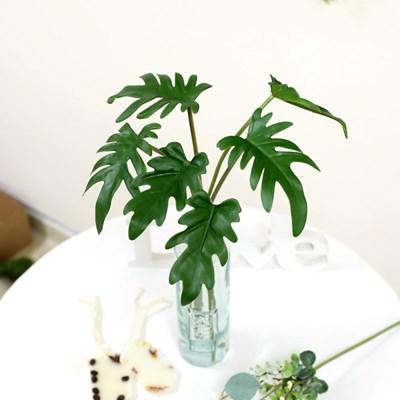 그린테리어 조화가지 트로피칼 셀렘 잎 6P 세트