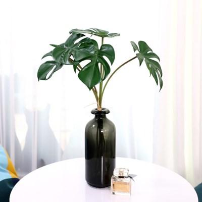 그린테리어 조화가지 트로피칼 몬스테라 잎 6P 세트
