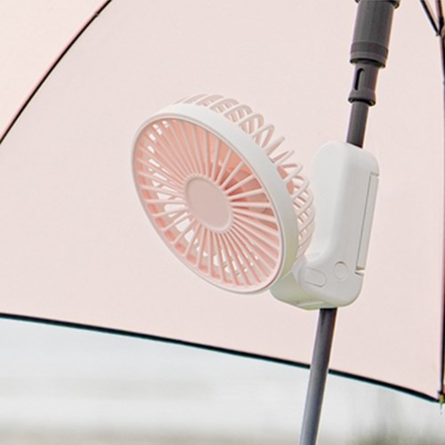 더유스 올웨이즈 3IN1 양산거치 탁상 접이식 핸디선풍기
