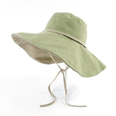 [베네]샤베트 와이어 빅챙 모자