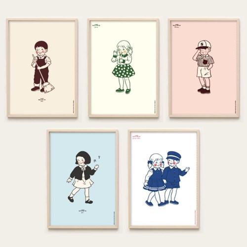 바른생활 포스터_10types
