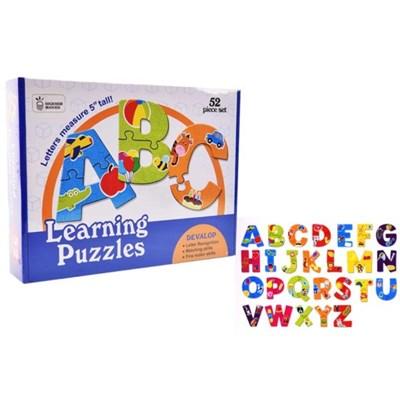 맥킨더 52pcs 알파벳 단어 보드게임_(1138107)