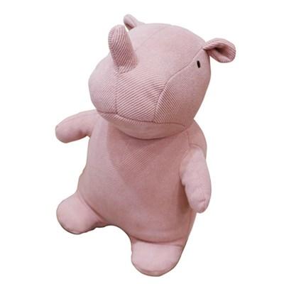 앳하스홈 소피 꼬뿔소 도어 스토퍼 28cm 핑크