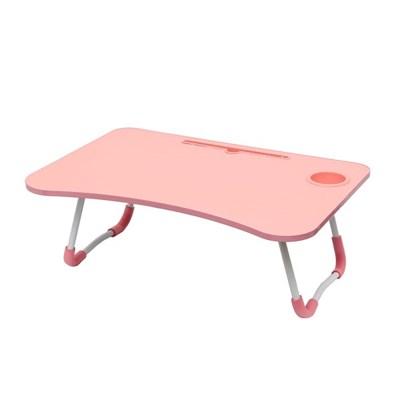 트리홈 접이식 좌식 테이블(핑크)