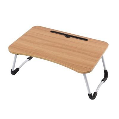 테블릿 홀더 접이식 좌식 테이블(브라운)
